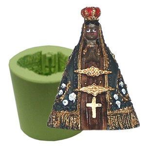 Molde de Silicone Para Velas e Sabonetes Nossa Senhora Aparecida
