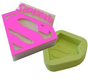 Molde de Silicone Super Mãe Para Velas e Sabonetes