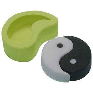 Molde de Silicone Yin Yang Para Velas e Sabonetes