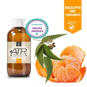 Essência Óleo Concentrada Aromática Bergamota Com Eucalipto 100 ml