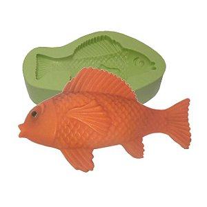 Molde de Silicone Peixe Para Velas e Sabonetes