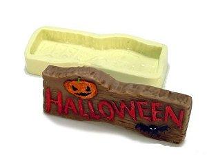 Molde de Silicone Placa de Halloween