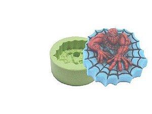 Molde de Silicone Homem Aranha Para Velas e Sabonetes