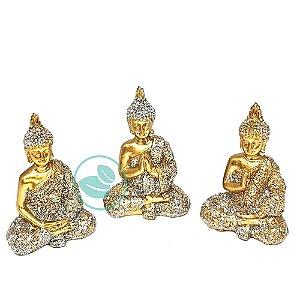 Enfeite Decorativo Trio Budas Mudras