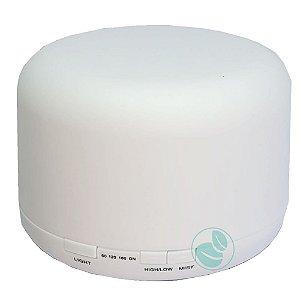 Difusor de Aroma e Purificador de ar Com Vibração Ultrassônica 500ml Multicores