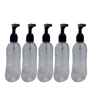 Frasco 100 ML Ipanema Para Álcool Gel com Válvula Dosadora Frasco 05 Unidades VAZIO