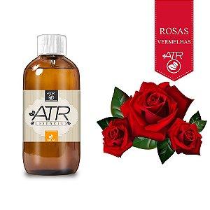 Essência Óleo Concentrada Aromática Rosas Vermelhas 100 ML