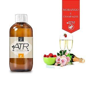 Essência Óleo Concentrada Aromática Morango com Champagne 100 ML