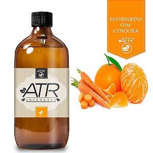 Essência Óleo Concentrada Aromática Mandarina Com Cenoura 1 Litro