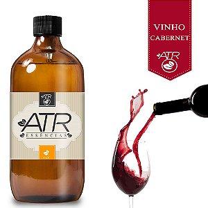 Essência Óleo Concentrada Aromática Vinho Cabernet 1Litro