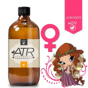 Essência Feromônio Feminina Afrodite Óleo 1Litro