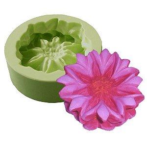 Molde de Silicone Flor Dália Para Velas e Sabonetes