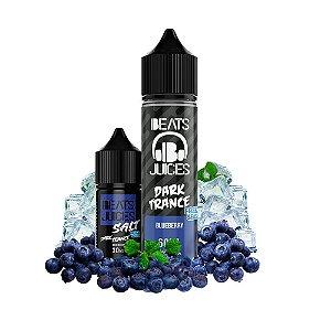 Líquido Juice Salt Freeze Season Dark Trance Blueberry - Beats