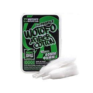 Algodão Xfiber Cotton Profile Mesh 6mm 10x - Wotofo