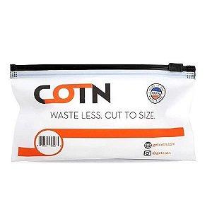 Algodão Orgânico Cotton Waste Less Cut To Size 10x - Cotn