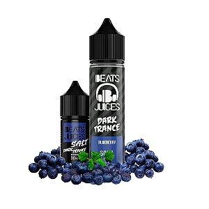 Líquido Juice Salt Dark Trance Blueberry - Beats