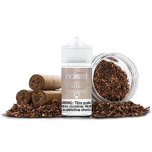 Líquido Juice Tobacco Cuban Blend - Naked