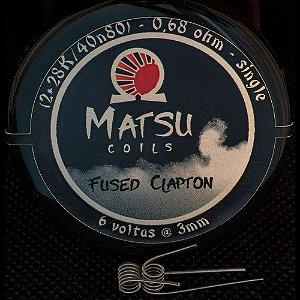 Resistência Fused Clapton 28k 2x - Matsu Coils