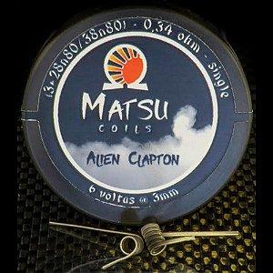 Resistência Alien Clapton - Matsu Coils