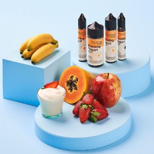 Líquido Juice Salt Morning Yogurt - Dream Collab