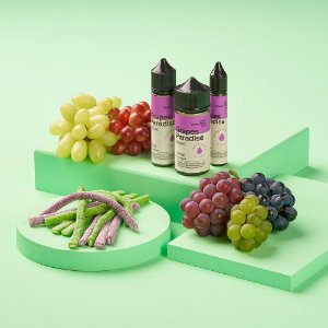 Líquido Juice Grapes Paradise - Dream Collab