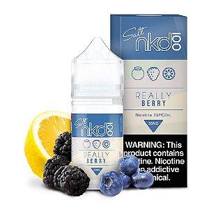 Líquido Juice Salt Really Berry - Naked