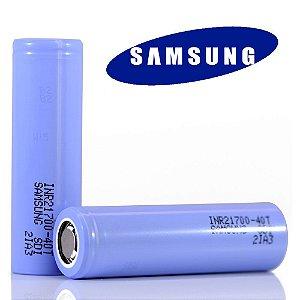 Bateria 21700 Samsung 40T 4000mAh 30A - Samsung
