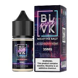 Líquido Juice Salt Pink Series Iced Berry Kiwi - Blvk