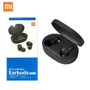 Xiaomi Earbuds Mi True Basic 2 Preto - Bluetooth