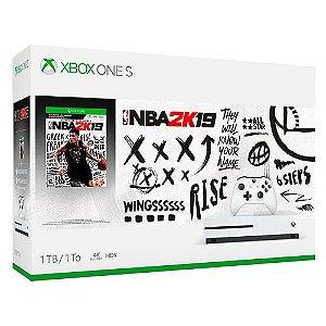 Console Xbox One S 1TB C/NBA 2K19