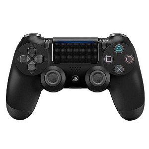 Controle PlayStation 4 Preto