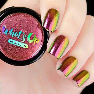 Pó Para Unhas Efeito Multi Cromado Whats Up Nails - Fairy