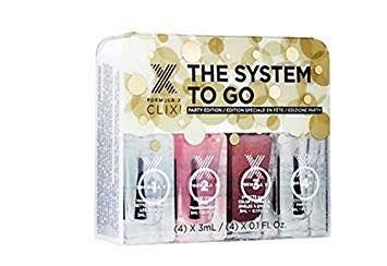 Kit Completo com Esmalte Formula X The System to Go - Party Edition