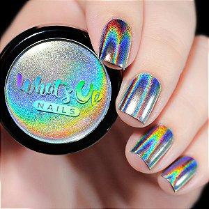 Pó Para Unhas Efeito Holográfico Whats Up Nails - Holographic Powder
