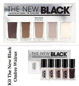Kit Esmaltes The New Black - 1 Kit - Escolha o Seu!