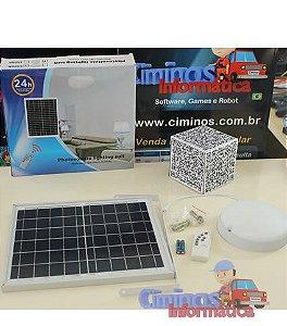 Luminária Solar Interna de 25W - Redonda