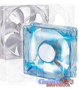 Cooler Fan 80mm LED Azul