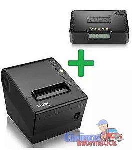 Kit Sat Fiscal + Impressora Térmica Elgin (Guilhotina/USB)