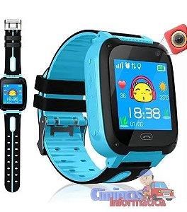 Relogio Inteligente Smartwatch Kids Infantil Sos Chip App
