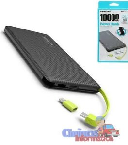 Carregador Bateria Portátil Power Bank Pineng Pn-951 5000 Mah V8