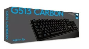 Teclado Gamer Logitech G513 Carbon Mecanico Rgb Rommer