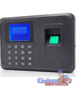 Relógio De Ponto Eletrônico Biométrico Digital Português