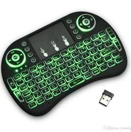 Mini Teclado Wireless com Mouse
