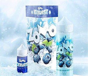 ESSÊNCIA  LIQUIDA ZOMO BLUEBERRY ICE 60ML