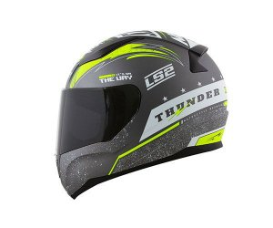 CAPACETE LS2 FF353 RAPID THUNDER CINZA