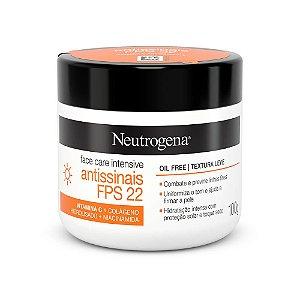 Neutrogena Face Care Intensive Antissinais FPS 22 100g