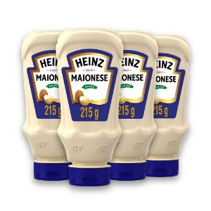 Kit c/ 4 Maionese Heinz Tradicional 215g