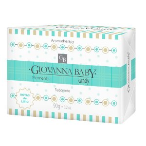 Sabonete Giovanna Baby Moments Candy 90g
