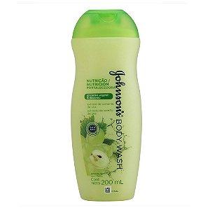 Sabonete Líquido JOHNSON'S  Nutrição Fortalecedora 200 ml