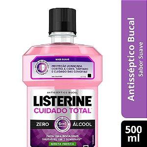 Antisséptico Bucal LISTERINE Cuidado Total ZERO 500ml